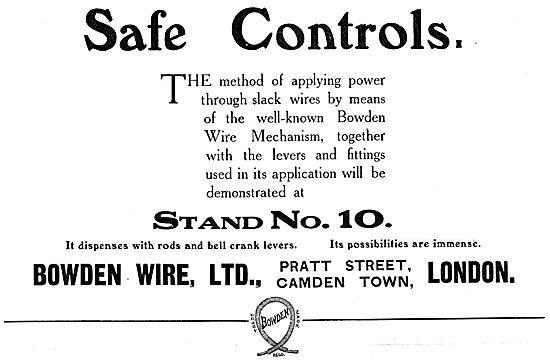 Bowden Wire Mechanism.- Bowden Controls
