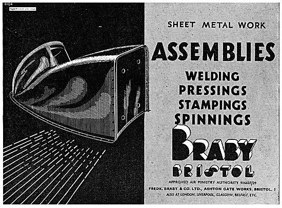 Braby Welding Pressings Stampings & Spinnings