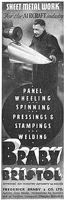 Fredk Braby - Pressings, Stampings & Sheet Metal Work