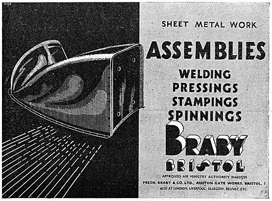 Fredk Braby - Assemblies , Stampings & Sheet Metal Work