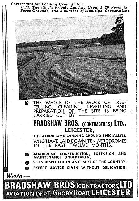 Bradshaw Bros. Airfield Construction Contractors