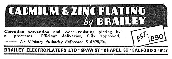 Brailey Electroplaters For Cadmium & Zinc Plating