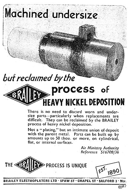 Brailey Electroplaters. - Salford