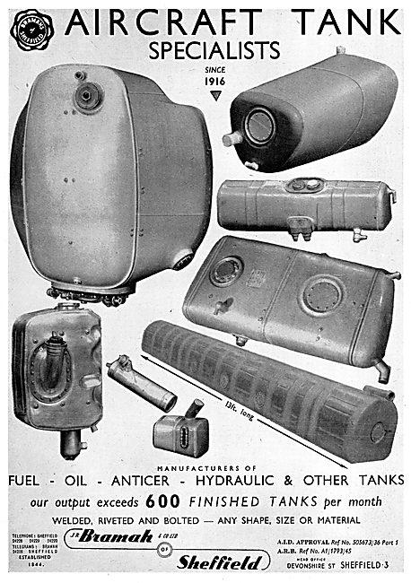 Bramah Tanks Specialists - Fuel Tanks Oil Tanks Anticer Tanks