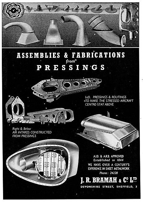 J R Bramah Precision Sheet Metal Assemblies & Fabrications