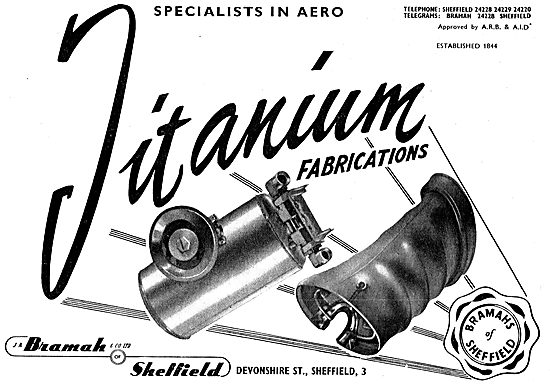 Bramah Titanium Fabrications