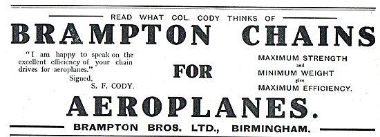 Col Cody Praises Brampton Aeroplane Chains
