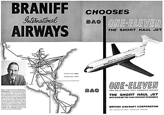Braniff Routes