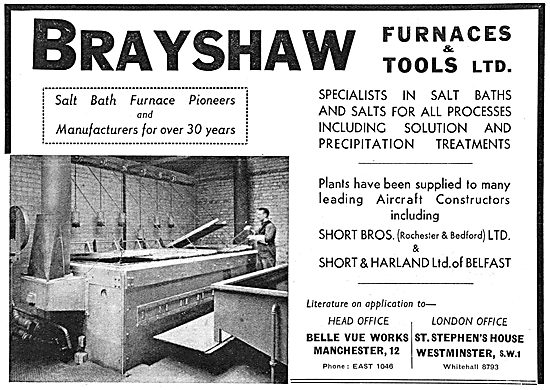 Brayshaw Furnaces & Tools. Industrial Furnaces