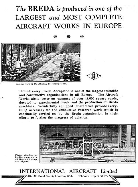 Breda 15  Aircraft Construction