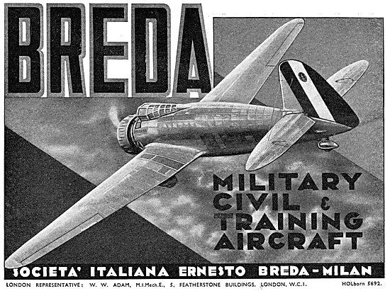 Breda Civil & Military Training Aircraft