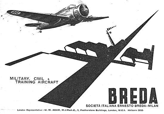 Breda Military Aircraft