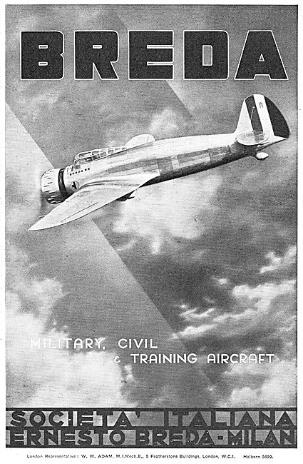 Breda Civil & Military Aircraft
