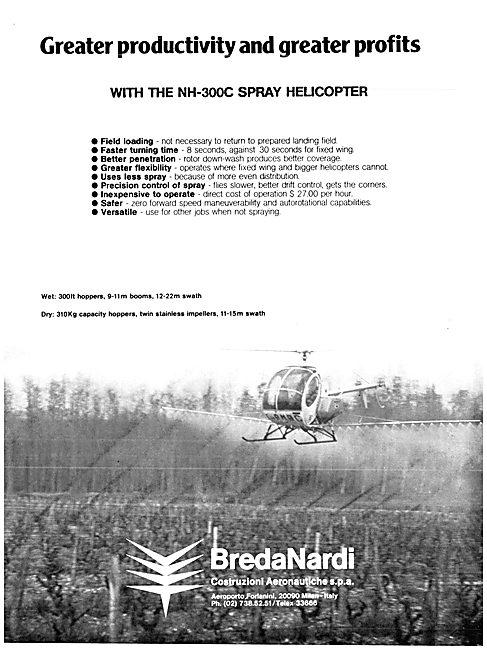 BredaNardi NH-300C Spray Helicopter