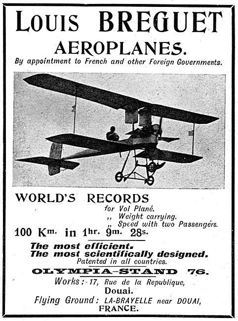 Louis Breguet Aeroplanes