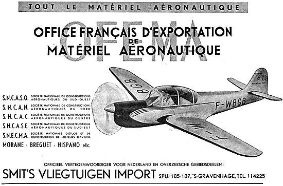 Morane Breguet Hispano - SNCASO SNECMA