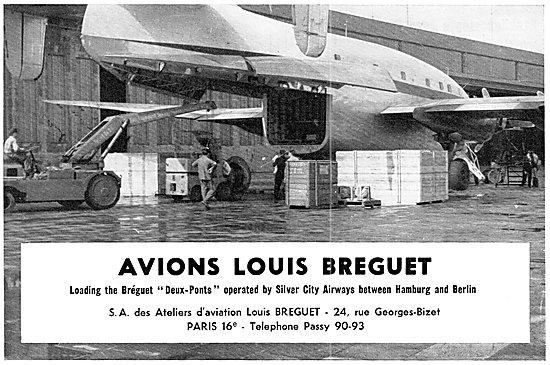 Breguet Deux-Ponts Transport Aircraft