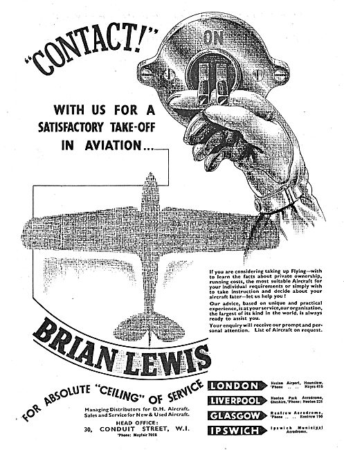 Brian Lewis & Co For All Your Aviation Requirements