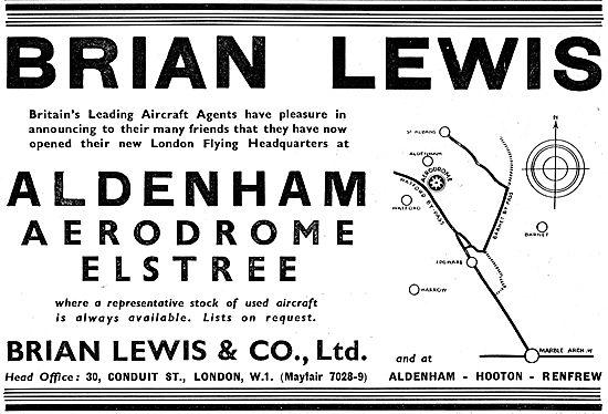 Brian Lewis & Co - Aldenham Aerodrome Elstree