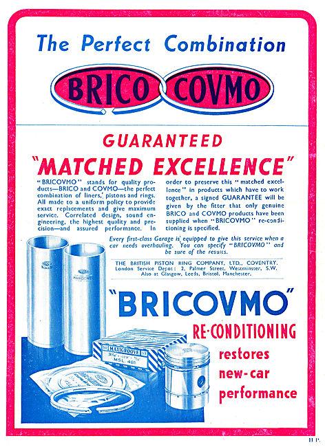 Brico Covmo - Bricovmo Piston Rings & Cylinder Liners