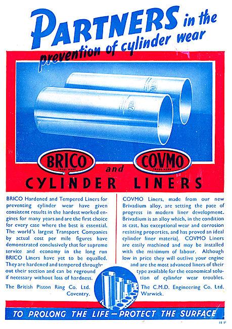 Brico Pistons,Rings & Liners - Brico Covmo