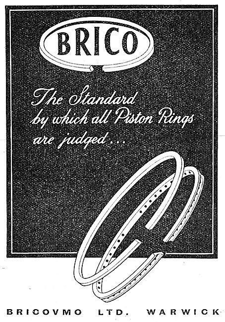 Bricovmo Brico Pistons, Piston Rings & Cylinder Liners