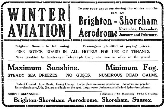 Winter Aviation - Brighton Shoreham Aerodrome