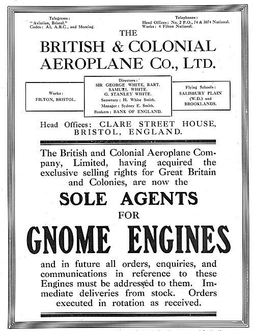 British & Colonial Aeroplane Company - Bristol