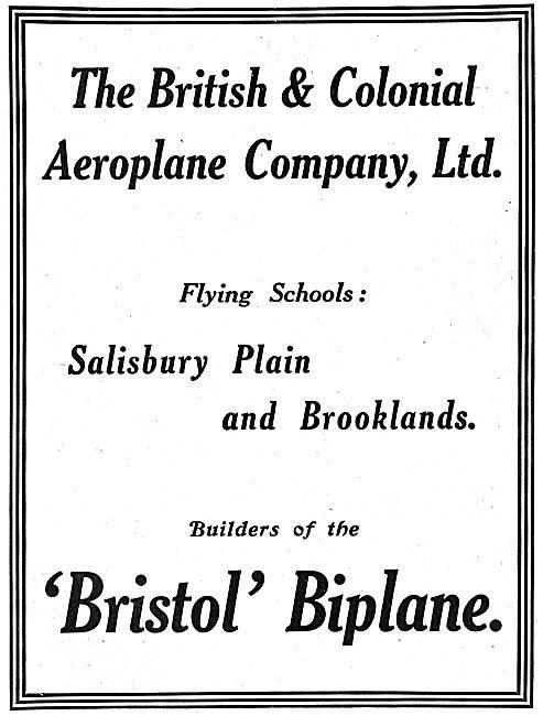 The British & Colonial Aeroplane Company