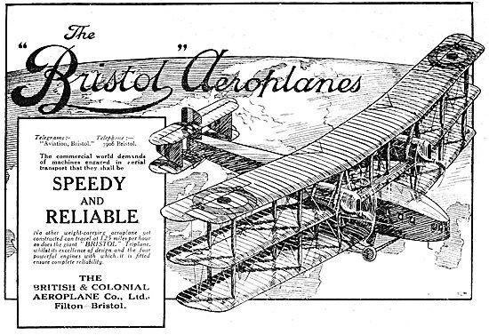 Bristol Aeroplanes 1919