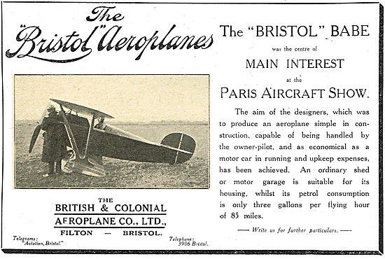 Bristol Babe Light Aeroplane