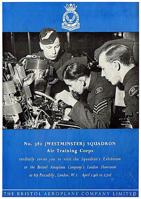 Bristol Aeroplane Co - 382 (Westminster) Squadron ATC