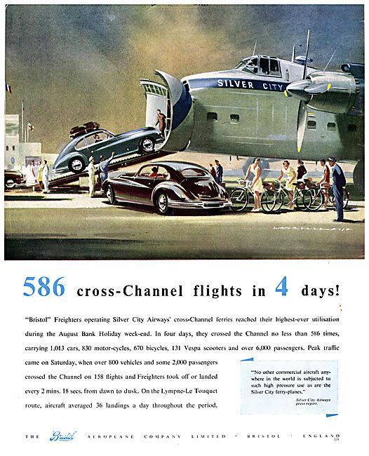 Bristol Freighter - Silver City Airways