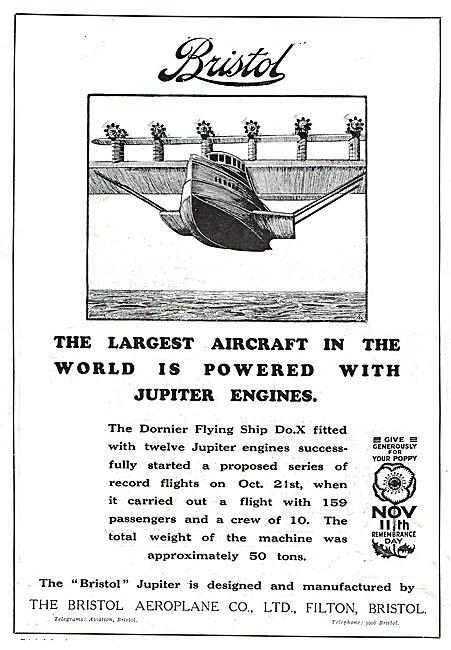 Jupter Power For The Dornier Flying Ship Do.X