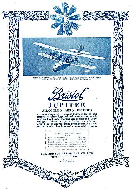 Bristol Jupiter - Short Kent Flying Boat