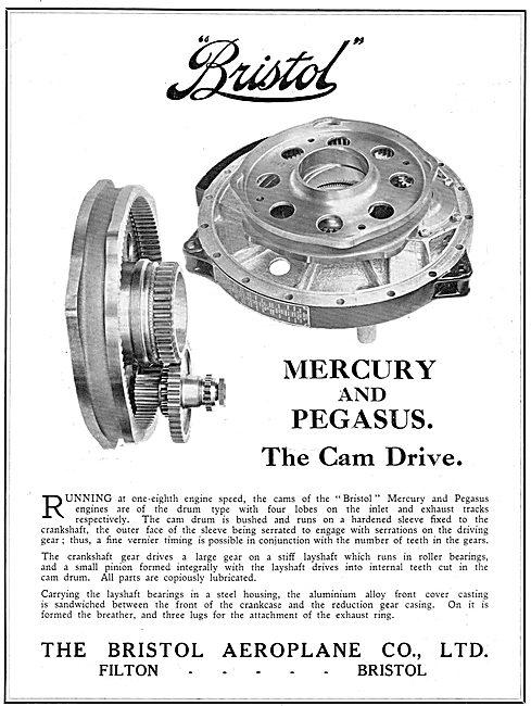Bristol Mercury & Pegasus Aero Engine Cam Drive