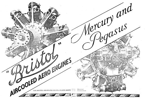 Bristol Mercury & Pegasus Aero Engines