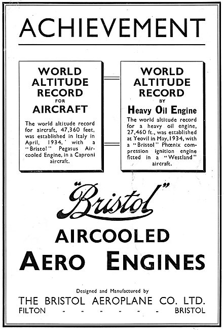 Bristol Phoenix Compression Ignition  Aero Engine