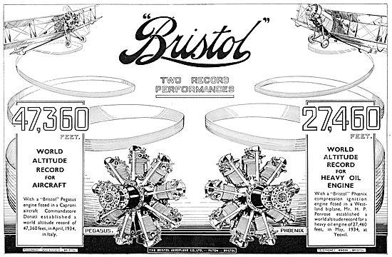 Bristol Pegasus - Bristol Phoenix Heavy Oil Diesel Engine