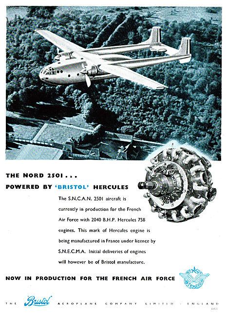 Bristol Hercules - S.N.C.A.N 2501 - Nord 2501