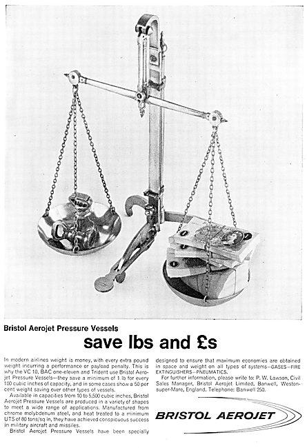 Bristol Aerojet Pressure Vessels
