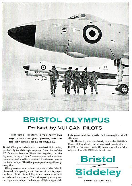 Bristol Siddeley Olympus Praised By Vulcan Pilots