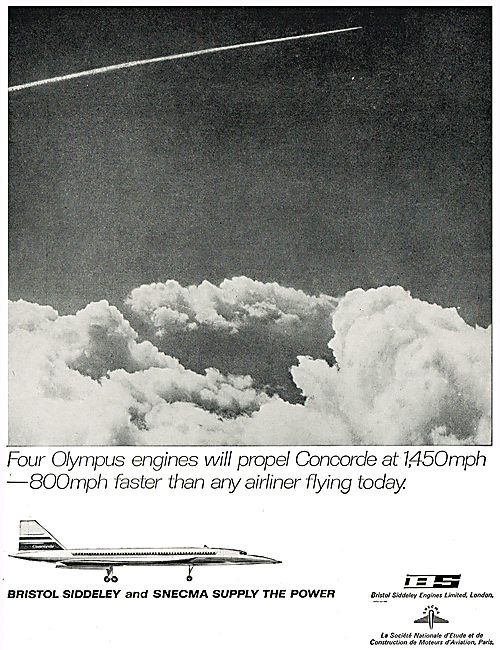 Bristol Siddeley & SNECMA Olympus