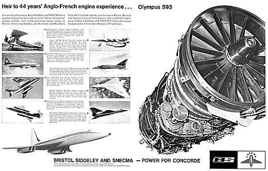 Bristol Siddeley SNECMA  Olympus 593