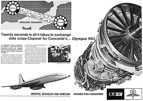 Bristol Siddeley SNECMA  Olympus 593 - Concorde