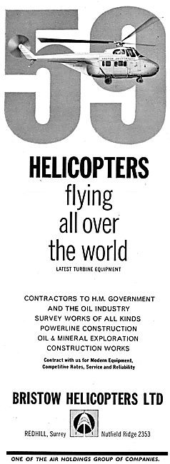 Bristow Helicopters 1965