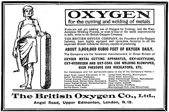 British Oxygen - Welding & Cutting