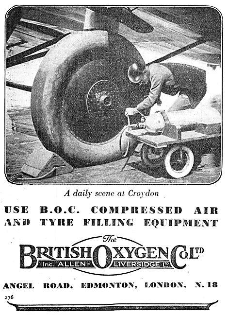 British Oxygen Compressed Air Equipment