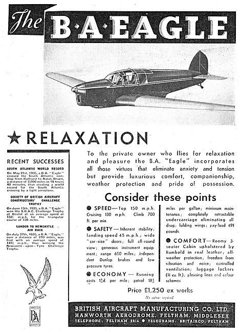British Aircraft  B.A.Eagle