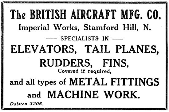 The British Aircraft Manufacturing Co